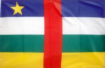 CENTRAL AFRICAN REPUBLIC - 3 X 2 FLAG